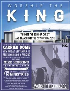 Worship the King 09/16