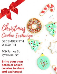 2016 Christmas Cookie Exchange