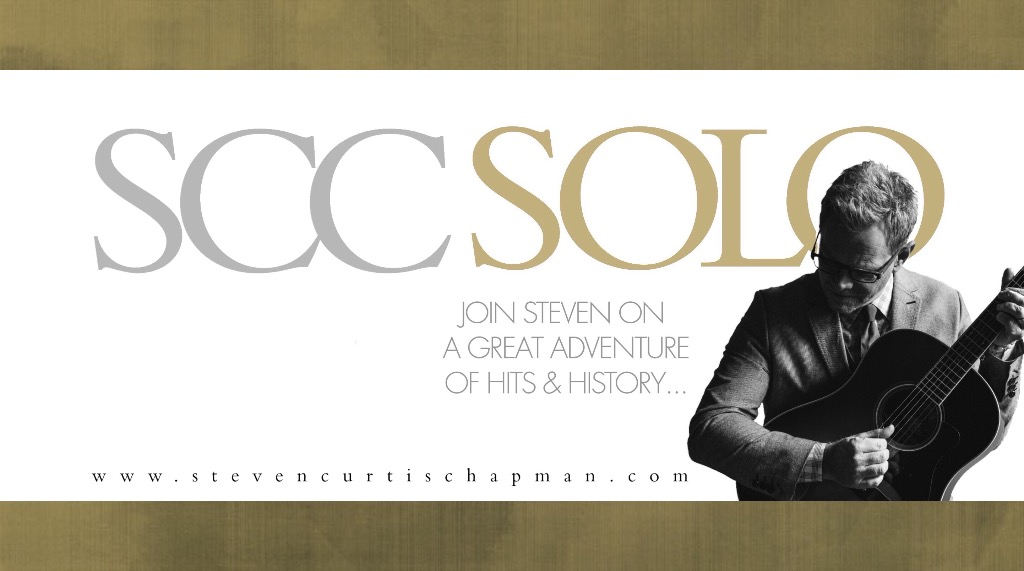 Steven Curtis Chapman's SCC SOLO Tour in Syracuse!